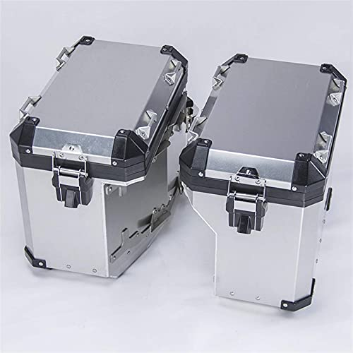 AQS1IAI - Alforjas laterales para B-MW R1200GS R1250GS Adventure Adv LC 2014-2021 - Sillín trasero para maleta de equipaje