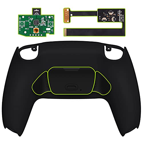 eXtremeRate Programable Rise Remap Kit for PS5 Controller, Upgrade Board & Redesigned Back Shell & Back Buttons Attachment for DualSense Controller - Controller NOT Included