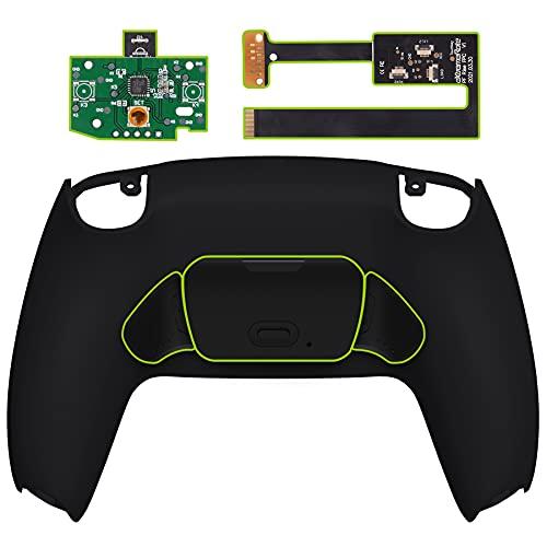 eXtremeRate Programmierbares Rise Remap Kit für ps5 Controller,Rückseite Hülle/Case Knöpfe/Tasten für Playstation 5 Controller(Schwarz)-Controller Nicht im Lieferumfang enthalten