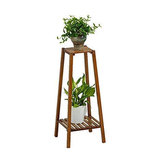 Étagères d'angle Supports de pots Support de fleur stand de fleur en bois de salon créatif support de fleur de combinaison de bois solide présentoir multicouche en bois de plancher-debout support de p