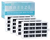 Breeze by MAYA W10311524 Replacement Refrigerator Air Filter, Compatible with Whirlpool AIR1, W10311524, 4 Pack