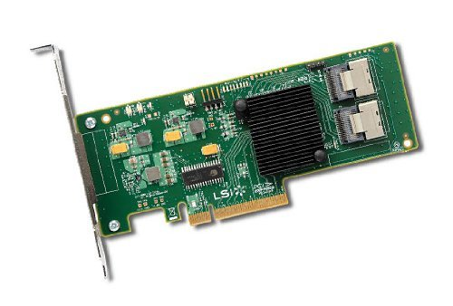 LSI LOGIC LSI00195 Host Bus Adapter Kit (8-Port, 8X PCIe 2.0, 2X SAS, RAID 0/1/1E/10/JBOD)
