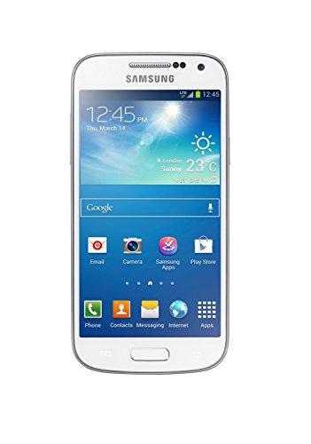 Samsung Galaxy S4 mini Smartphone (10,9 cm (4,3 Zoll) AMOLED-Touchscreen, 8GB interner Speicher, 8 Megapixel Kamera, LTE, NFC, Android 4.2) weiß [EU-Version]