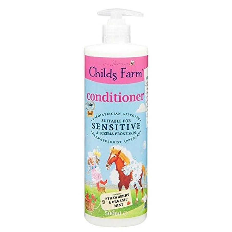レコーダーも運営Childs Farm Conditioner for Unruly Hair 500ml (Pack of 6) - 手に負えない髪の500ミリリットルのためのチャイルズファームコンディショナー x6 [並行輸入品]