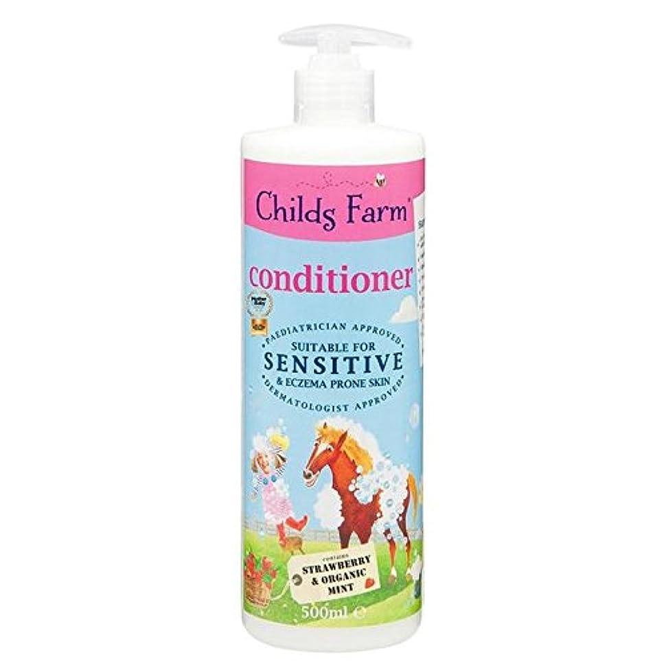 グラフィック緩やかなより多いChilds Farm Conditioner for Unruly Hair 500ml (Pack of 6) - 手に負えない髪の500ミリリットルのためのチャイルズファームコンディショナー x6 [並行輸入品]