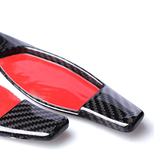 Real Carbon fiber Steering Wheel Paddle Shifter Extensions for Audi R8 2016-2018 RS3 2017-2018 RS4 2018 RS5 2017-2018 TT RS 2016-2018