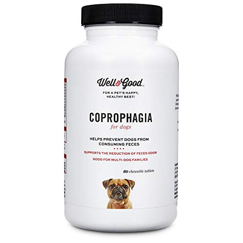 Well & Good Coprophagia Dog Tablets, 120 Count, 120 CT