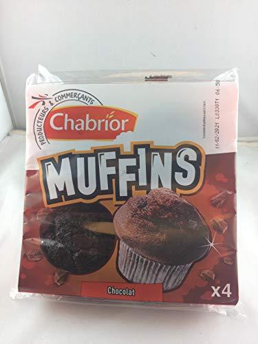 4 Schoko Muffins