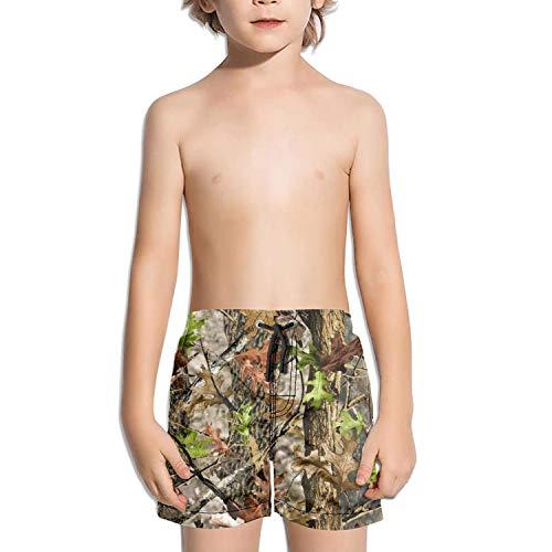 CBBYY Kids Boys Funny Boardshorts Swim Trunks Realtree Camo Beach Shorts