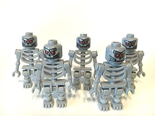 LEGO ® 5 graue Skelette aus The Movie ( Robo Skeleton )