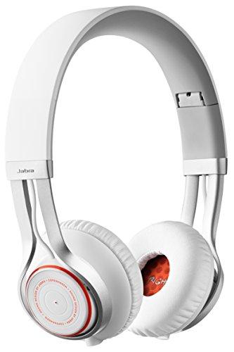 Jabra Revo Wireless Bluetooth On-Ear-Kopfhörer (Stereo-Headset, Bluetooth 3.0, NFC, Freisprechfunktion) weiß