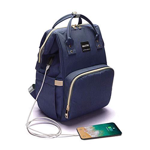Baby Diaper Bag Backpack,NUTK Multi-Function Waterproof Large Capacity Travel Nappy Bags