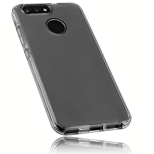 mumbi Hülle kompatibel mit Huawei Nova 2 Handy Hülle Handyhülle, transparent schwarz