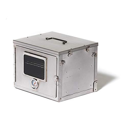 Winnerwell Fastfold Oven | Horno de Campamento portátil para Estufas de leña y Estufas de Campamento | Acero Inoxidable de Grado alimenticio | Se pliega para un Almacenamiento Compacto