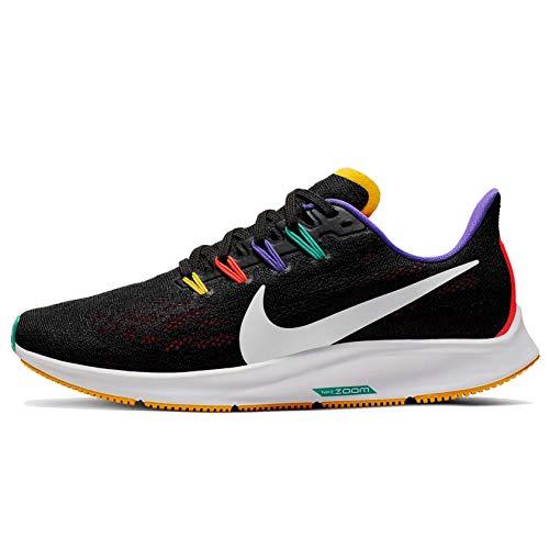 Nike Air Zoom Pegasus 36 Zapatillas de trail para mujer, color Negro, talla 38 EU