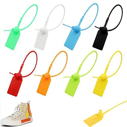 GZcaiyun 120 fascette stringicavo per scarpe, vestiti e bagagli, 250 mm, 8 colori