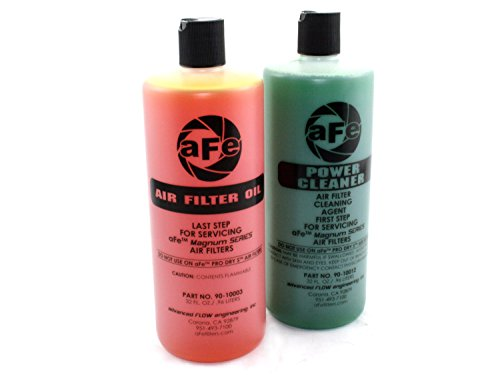 aFe Power MagnumFLOW 90-50520 Air Filter Restore Kit (32 oz, Gold)