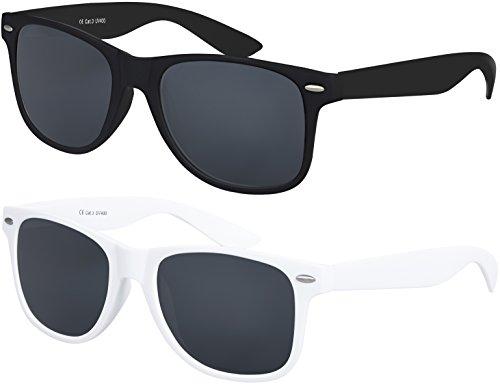 Balinco Gafas Original Gafas de sol vintage retro y unisex con protección UV400 CAT 3 CE – Diferentes paquetes disponibles