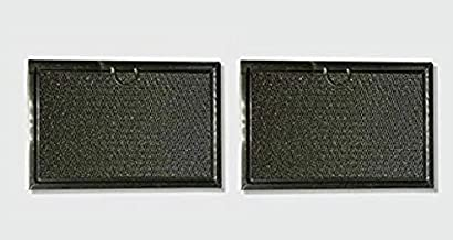 Air Filter Factory 2 Pack Compatible Replacement For Bosch 651858 Aluminum Mesh Microwave Oven Grease Filters