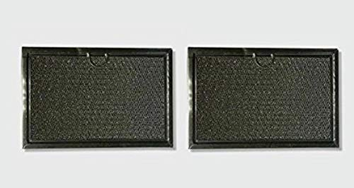 2 Pack Air Filter Factory Replacement For Bosch 651858 Microwave Oven Aluminum Grease Filter