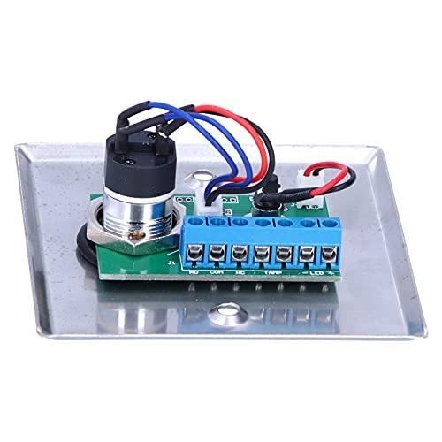 Interruptor de salida, 2 llaves de orificio redondo Interruptor con llave para la mayoría de las situaciones de instalación