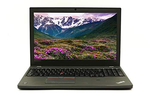 Lenovo ThinkPad T550 15.6 pollici Full HD I Laptop potente I Intel Core i5 – 5.Gen Win 10 Pro Intel HD Grafica I 2,3 kg Nero (rigenerato) (8 GB RAM – 256 GB SSD) (Ricondizionato)