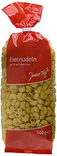 Jeden Tag Frischei-Nudeln - Hörnchen, 500 g