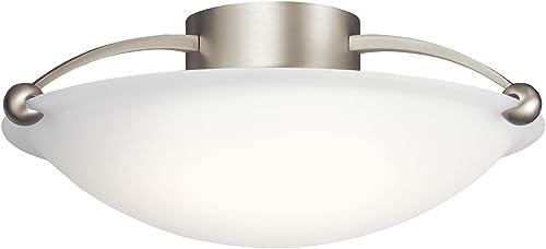 wholesale Kichler 8406NI new arrival Three wholesale Light Semi Flush Mount outlet online sale