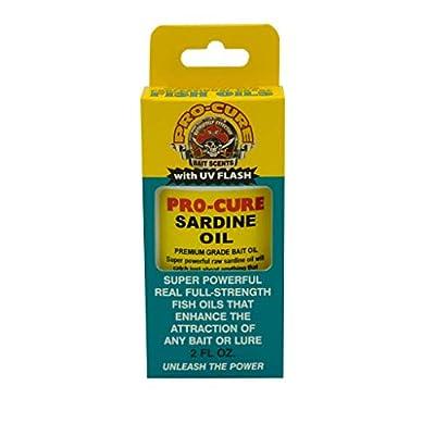 Pro-Cure Sardine Bait Oil, 2 Ounce
