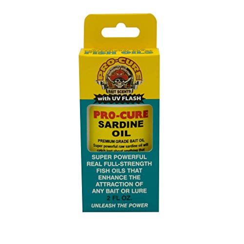 Unknown Pro-Cure Sardine Bait Oil, 2 Ounce