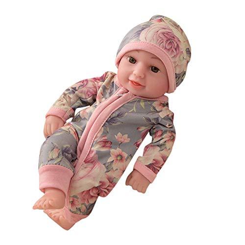 Morran Muñeca de Renacimiento Hecha a Mano de 10 Pulgadas, muñeca de Renacimiento de Silicona Realista, muñeca de bebé niña, Juguete para niños pequeños