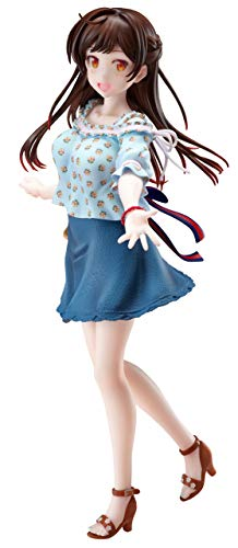 Furyu Kanojo, Okarishimasu: Chizuru Mizuhara 1:7 Scale PVC Figure, Multicolor