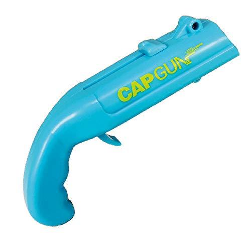 FishSmooth Cap Gun Flaschenöffner Bieröffner, Launcher Shooter Sky Blue