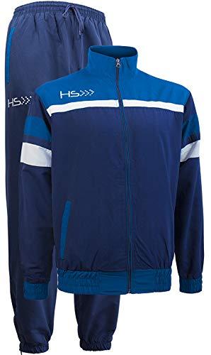 HS - Tuta Sportiva Energy, Giacca con Zip e Pantalone Lungo, per Uomo e Donna