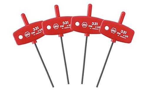 WIHA Innensechskant Schlüssel mit Schlüsselgriff 1.5-3.0 mm 4tlg.