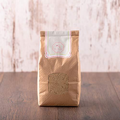 süssundclever.de® Bio Weißmohn   1 kg   aus der Türkei   plastikfrei und ökologisch-nachhaltig abgepackt
