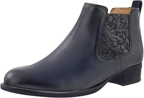 Gabor Damen Chelsea Boots blau Gr. 39