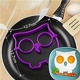 Huevo frito de siliconad desayuno tortilla herramienta moldeador de anillo de panqueque accesorios de cocina hogar cocina molde de huevo de conejo, 1 pieza
