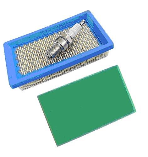 ISE Pack Air Pre Filter & Spark Plug Service Kit Voor Honda motor GXV140 GXV160 HRB475 HRB535 HR1950 HR2150 Benzine grasmaaier Vervang 17211-ZG9-M00 17218-ZG9-M00