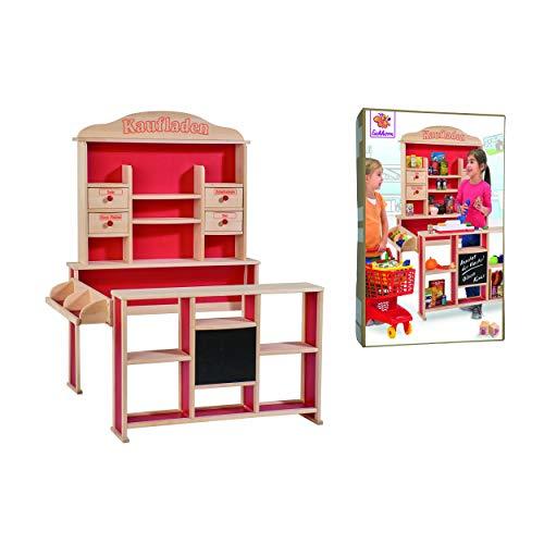 Simba Dickie- Tienda, Color Rojo, 88,5 x 98 x 121cm (Eichhorn 100002556)