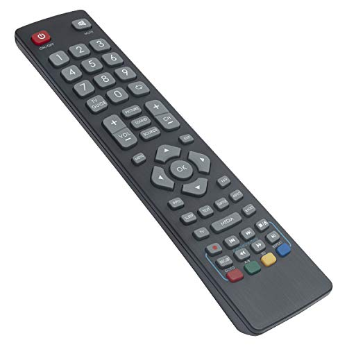 VINABTY SHWRMC0002 SHW/RMC/0002 RF ErsatzFernbedienung für Sharp LC-32CFF5112E LC-40CFF5222E LC-32CHE5100E LC-49CFF5001K LC-40CFF5221K LC-32CHF5112E LC-49CFF5001K LC-32CHE5100E SHWRMC0002N TV Remote