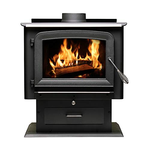 Ashley Hearth AW2520E-P Pedestal Wood Burning Stove
