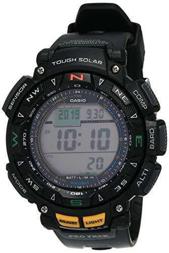 Casio De los hombres Pro Trek Digital Deporte Solar Reloj (Modelo de Asia) PRG-240-1D