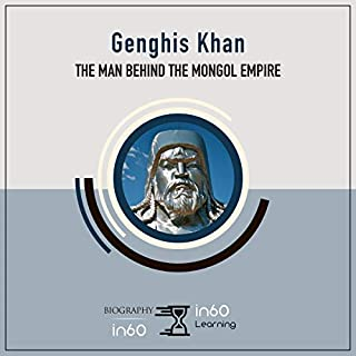 Genghis Khan audiobook cover art
