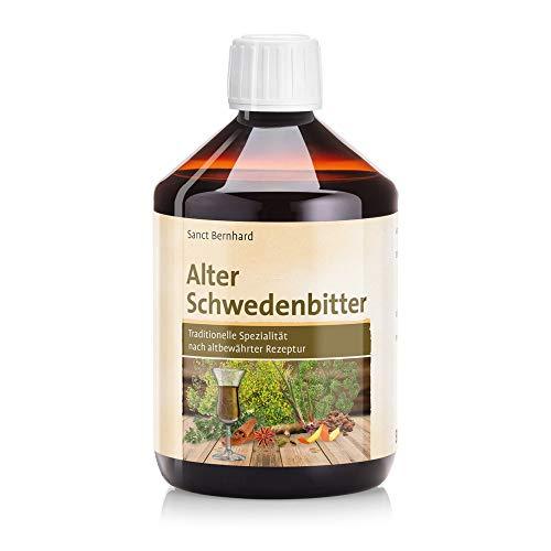 Sanct Bernhard Alter Schwedenbitter, Traditionelle Spezialität, Inhalt 500 ml