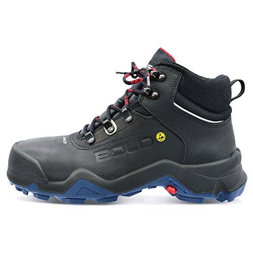 HKS Delta 1TP Sicherheits-Stiefel S3 SRC ESD EN ISO 20345 schwarz   048
