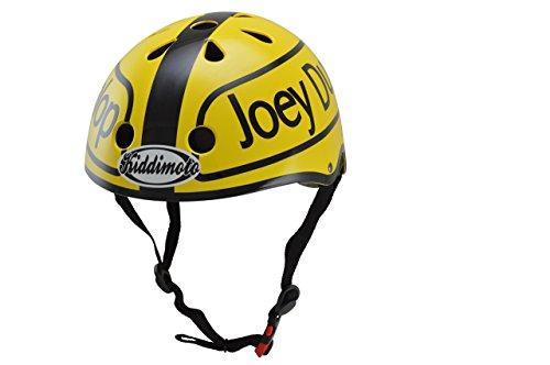 KIDDIMOTO kmh017 - Kinder Hero Helm Joey Dunlop für Fahrrad und Scooter Gr.S (2-5 Jahre)
