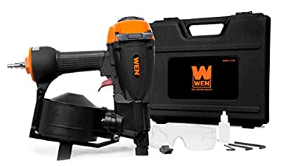 WEN 61783 3/4-Inch to 1-3/4-Inch Pneumatic Coil Roofing Nailer by WEN