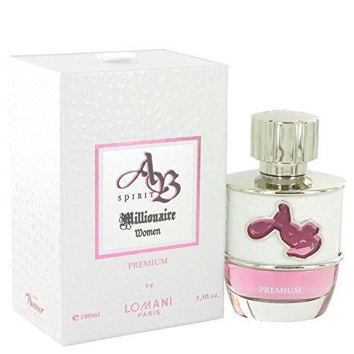AB Spirit Millionaire Premium by Lomani Eau De Parfum Spray 3.3 oz by Lomani