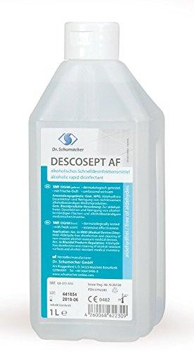 Dr. Schumacher Descosept AF (aldehydfrei) 1 Liter 311-010 Flächendesinfektionsmittel